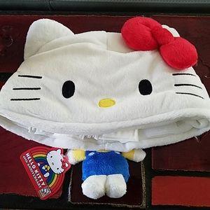 New! Hello Kitty Con 2014 Plush Hat!